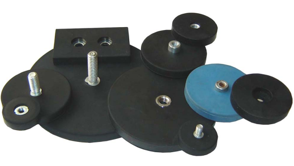 Powerful Rubber Coating NdFeB Magnets