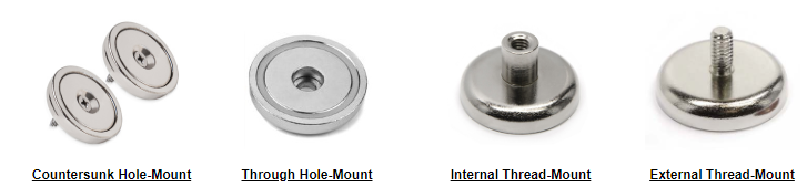 powerful neodymium pot magnets