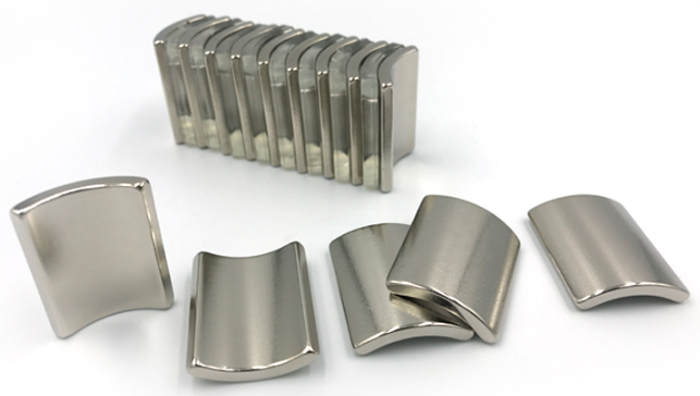 Strong Permanent ARC Neodymium Motor Magnet