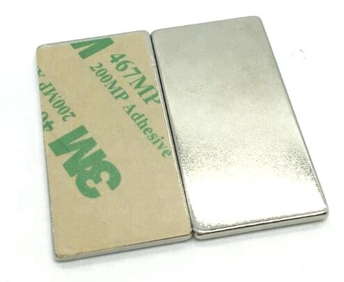 Strong Neodymium Bar Magnets with adhesive