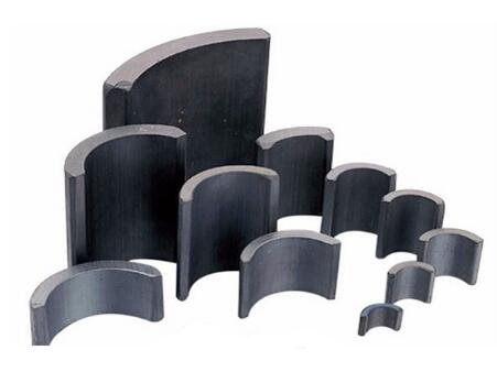 High Power Sintered Ferrite Arc Segment Magnet