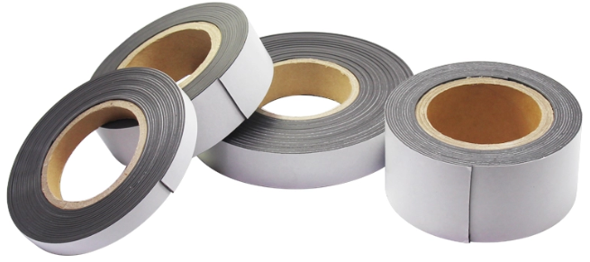 Flexible Magnetic Strips with Strong Adhesive