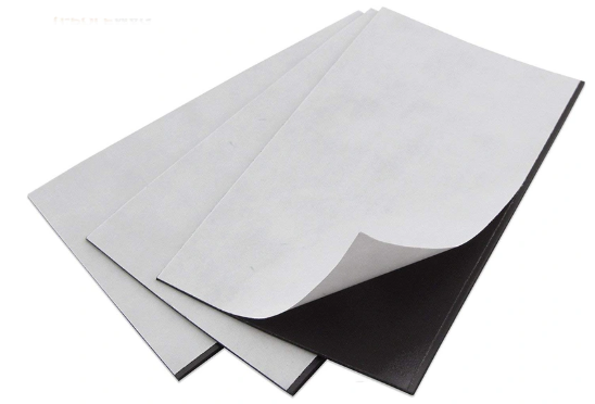 Self Adhesive Magnetic Soft Rubber Flexible Magnet Sheet