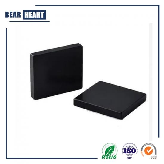 Black Epoxy Plating Block Servo Motor Magnet