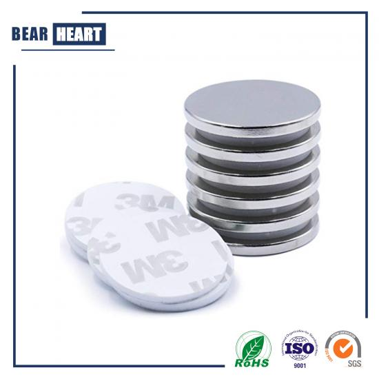 3M Self-adhesive Sintered Neodymium Disc Magnet