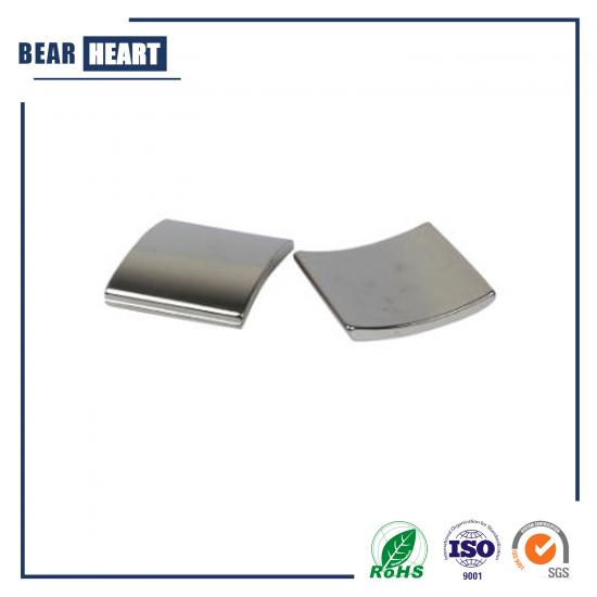 Arc Tile Shaped Vibration Motor Magnets