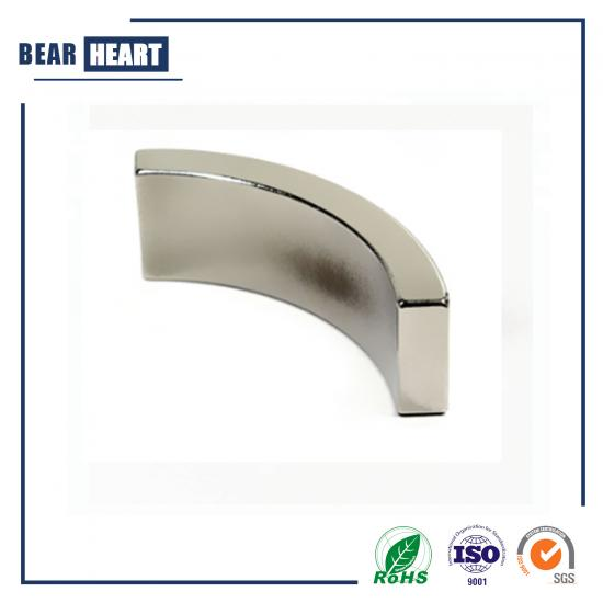 Strong N52 Customized Arc Neodymium Magnets