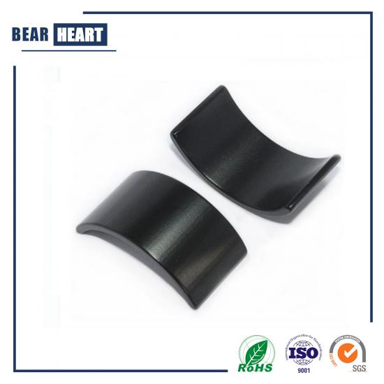 Epoxy Black Crescent Arc Packaging NdFeB Magnets