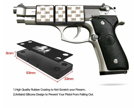 Concealed Magnetic Gun Holder