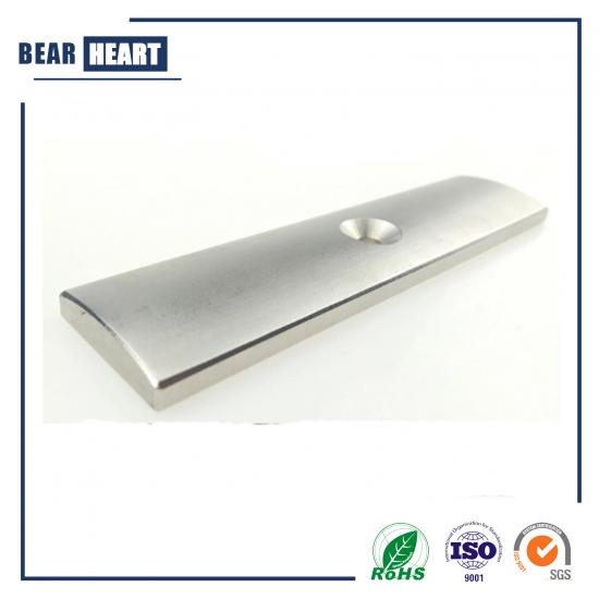 Strong power neodymium magnet countersunk