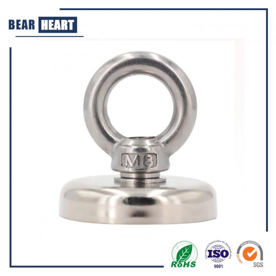 D60mm Super Strong Round Neodymium Fishing Magnet