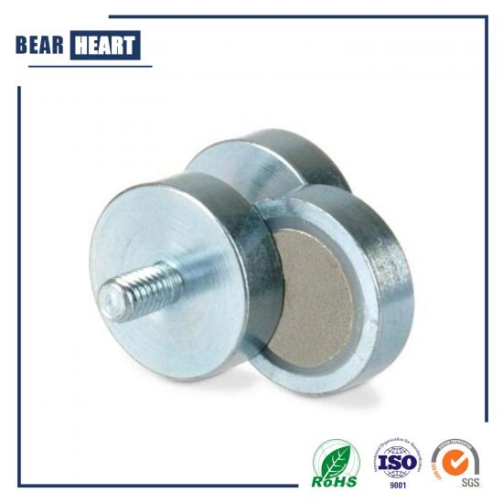 Strong Permanent SmCo Pot magnets