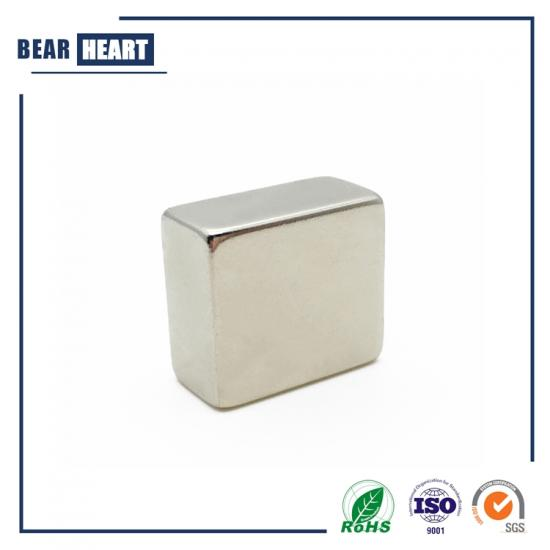 Square magnets for packaging box